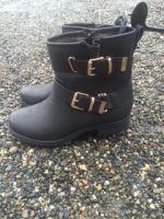 Bottine Femme avec fermeture Eclair T38<br/>L-Lux-Shoes
