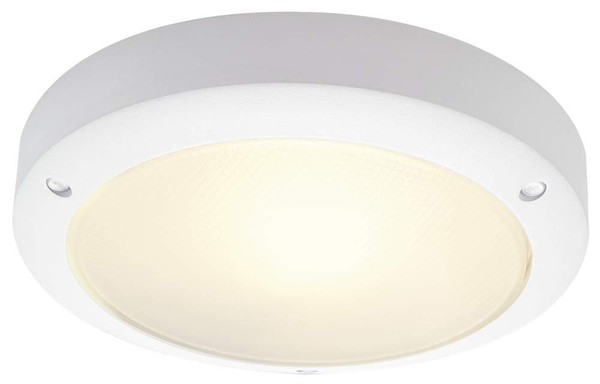 Applique exterieure hublot ovale w blanc slv