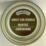 Peinture Exterieure Fer 750ml  Martele Chataigne<br/>Hammerite