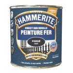 Peinture Exterieure Fer Forge 750ml Chataigne<br/>Hammerite