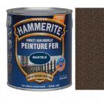Peinture Exterieure Fer 2.5l Martele Chataigne<br/>Hammerite
