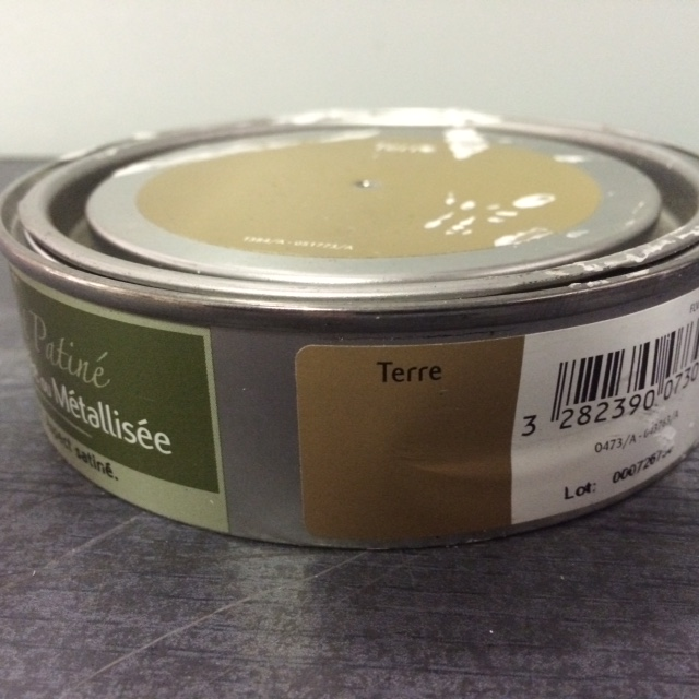 Cire 150 ml coloris terre effet patine liberon for Peinture effet patine