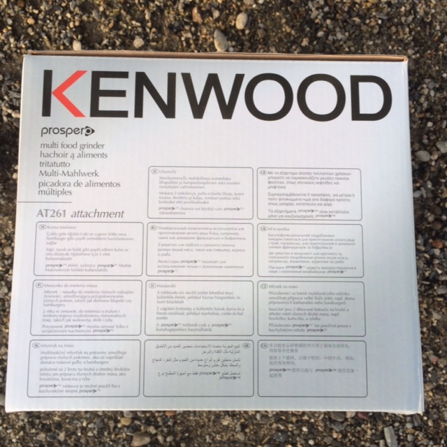 Hachoir pour modele Prospero Kenwood