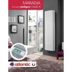 Radiateur Vertical Inertie 2000w Maradja PI Connecte <br/>Atlantic