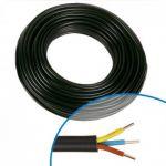 Cable 5G2-5mm U 1000 R2V Noir 500 Metres <br/>