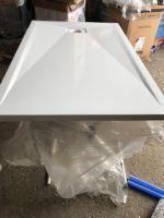 Receveur Rectangulaire KINESURF 140-90 4 cm  Blanc <br/>Kinedo