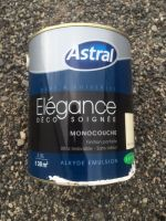 Peinture Boiseries Alkyde 2,5 litres Blanc Casse Satin<br/>Astral