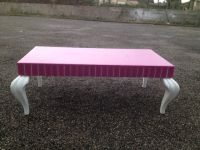 Table Basse Design Baroque Rose<br/>