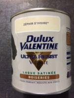 Peinture Laque Boiseries Valenite<br/>Dulux-Valentine