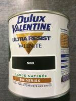Peinture Porte Boiseries 0,5 litre Valenite<br/>Dulux-Valentine