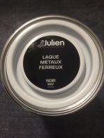 Laque Metaux Ferreux Noir Mat 0,5 litre<br/>Julien